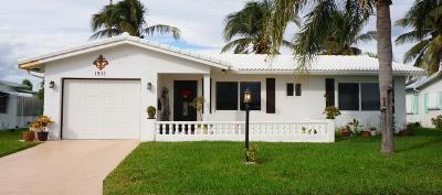 Boynton Beach Single Family Home For Sale: 1911 SW 16th Avenue