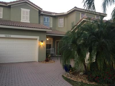West Palm Beach Single Family Home For Sale: 1454 Newhaven Point Lane
