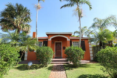 Lake Worth Single Family Home Contingent: 832 D Street