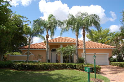 Palm Beach Gardens Single Family Home For Sale: 90 Cayman Place