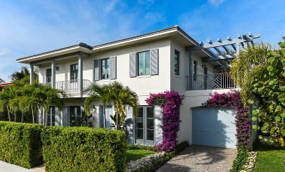 Palm Beach Single Family Home For Sale: 221 Oleander Avenue