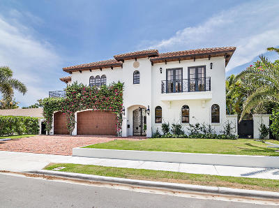West Palm Beach Single Family Home For Sale: 224 Alpine Road