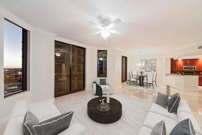 West Palm Beach Condo For Sale: 701 S Olive Avenue #1015