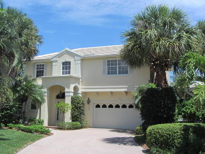 Jupiter Single Family Home Contingent: 17064 Crossgate Drive