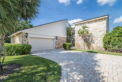 North Palm Beach Single Family Home For Sale: 1345 Oyster Bay