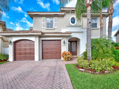 West Palm Beach Single Family Home Contingent: 6743 Hannah Cove