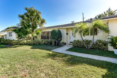 West Palm Beach Single Family Home For Sale: 228 Elwa Place