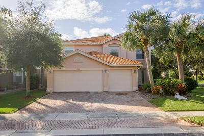 Greenacres Single Family Home Contingent: 5516 Monte Fino Court