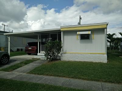 Boynton Beach FL Mobile Home For Sale: $54,900