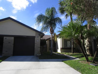 Royal Palm Beach Single Family Home For Sale: 192 Meander Circle