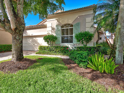 Palm Beach Gardens Single Family Home For Sale: 128 Sunset Bay Drive