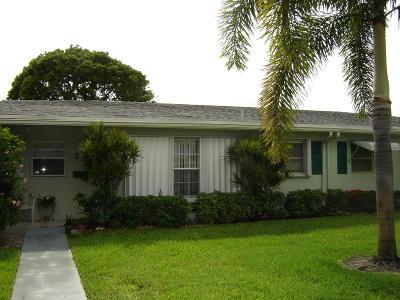 Delray Beach Single Family Home For Sale: 630 High Point Boulevard #B