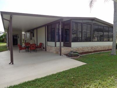 Boynton Beach FL Mobile Home For Sale: $139,900