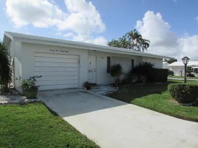 Boynton Beach Single Family Home For Sale: 2398 SW 13th Avenue