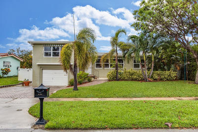 Boca Raton Single Family Home For Sale: 1405 NE 4th Avenue