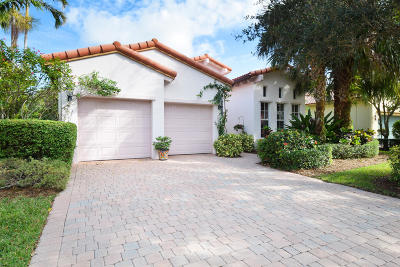Palm Beach Gardens Single Family Home For Sale: 1708 Nature Court