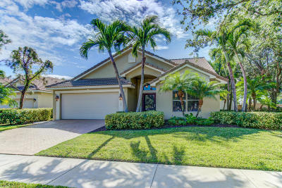 Delray Beach Single Family Home For Sale: 1290 Delray Lakes Drive