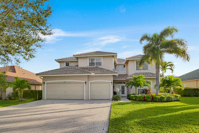 Jupiter Single Family Home For Sale: 540 Rookery Place