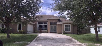 Port Saint Lucie FL Single Family Home Closed: $217,000
