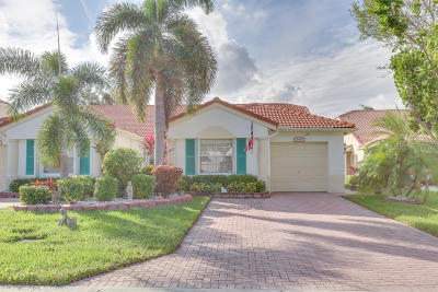 Delray Beach Single Family Home For Sale: 15453 Lake Gardenia Place