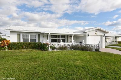 Boynton Beach Single Family Home For Sale: 2391 SW 11th Avenue