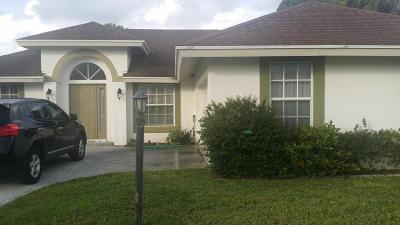 West Palm Beach Single Family Home For Sale: 2520 Timber Run N