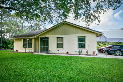 West Palm Beach Single Family Home Contingent: 13881 42nd Road