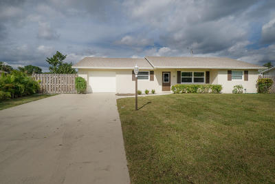 Jupiter Single Family Home Contingent: 301 Norfolk Road