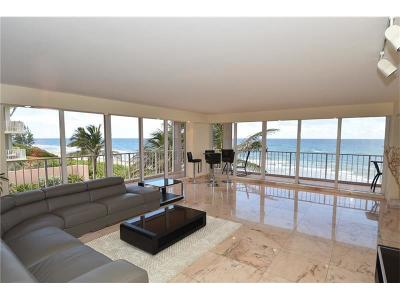 Highland Beach Condo For Sale: 3505 S Ocean Boulevard #3n