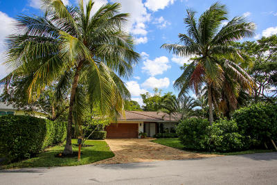 Boca Raton Single Family Home Contingent: 250 NW 5th Avenue