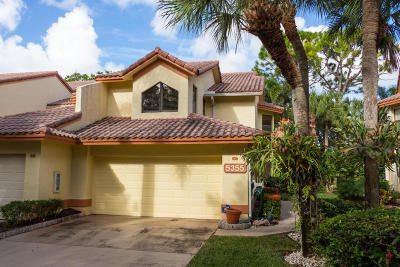Delray Beach Townhouse For Sale: 5355 10th Fairway Drive #3