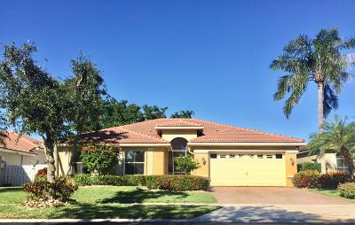 Lake Worth, Lakeworth Single Family Home Contingent: 6036 Royal Birkdale Drive