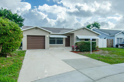 Boca Raton Single Family Home Contingent: 22822 SW 53rd Avenue