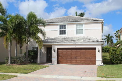 Wellington Single Family Home For Sale: 4129 Bluff Harbor Way