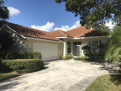 Palm Beach Gardens Single Family Home Contingent: 171 E Tall Oaks Circle