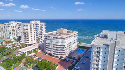 Highland Beach FL Condo For Sale: $610,000