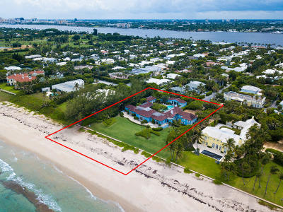 Palm Beach Single Family Home For Sale: 980 Ocean Boulevard
