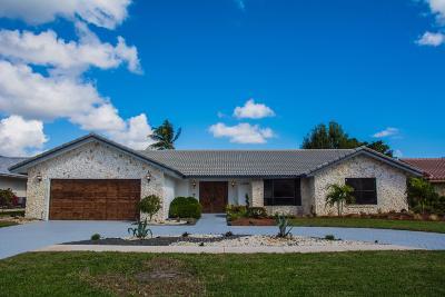 Boynton Beach Single Family Home For Sale: 11278 Piping Rock