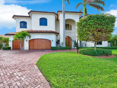 Singer Island Single Family Home For Sale: 1171 Coral Way