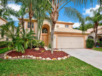 Palm Beach Gardens Single Family Home For Sale: 437 Woodview Circle