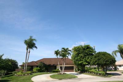 Boynton Beach Single Family Home For Sale: 3845 Partridge Place S