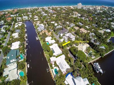 Palm Beach County Rental For Rent: 1019 Beach Drive