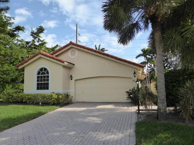 Delray Beach Single Family Home For Sale: 5096 Alencia Court