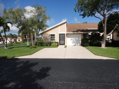 Boca Raton Single Family Home For Sale: 8105 Sweetbriar Way #C