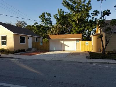 Lake Worth Multi Family Home For Sale: 201 C Street
