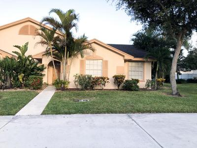 Boca Raton Single Family Home For Sale: 9385 S Boca Gardens Circle #D