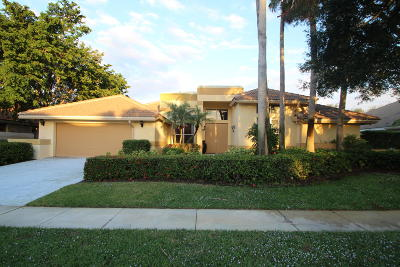 Boynton Beach Single Family Home For Sale: 11224 Westland Circle