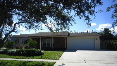 Tequesta Single Family Home Contingent: 328 Tequesta Drive