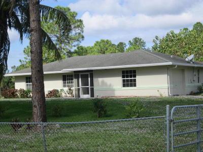 Loxahatchee Single Family Home Contingent: 17817 81st Lane