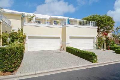 Ocean Ridge Townhouse For Sale: 5105 Ocean Boulevard #C